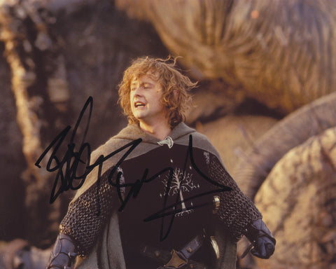 BILLY BOYD SIGNED LORD OF THE RINGS 8X10 PHOTO 2