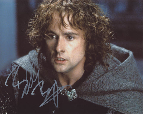 BILLY BOYD SIGNED LORD OF THE RINGS 8X10 PHOTO 3