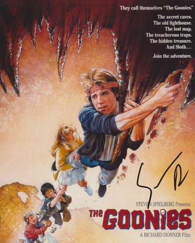SEAN ASTIN SIGNED THE GOONIES 8X10 PHOTO