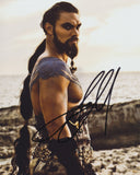 JASON MOMOA SIGNED GAME OF THRONES 8X10 PHOTO