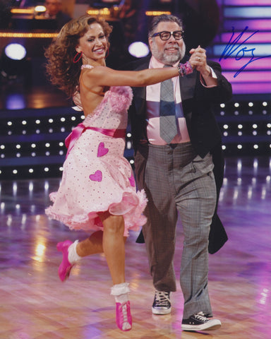STEVE WOZNIAK SIGNED DANCING WITH THE STARS 8X10 PHOTO