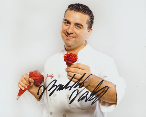 BUDDY VALASTRO SIGNED CAKE BOSS 8X10 PHOTO 2
