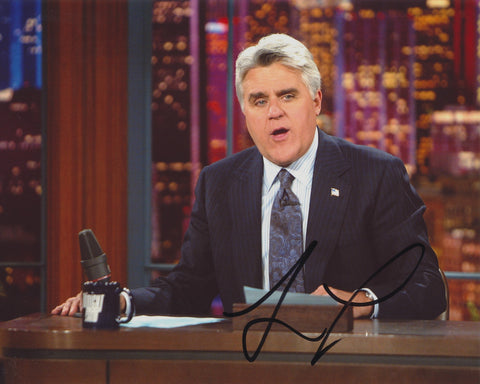 JAY LENO SIGNED THE TONIGHT SHOW 8X10 PHOTO 9
