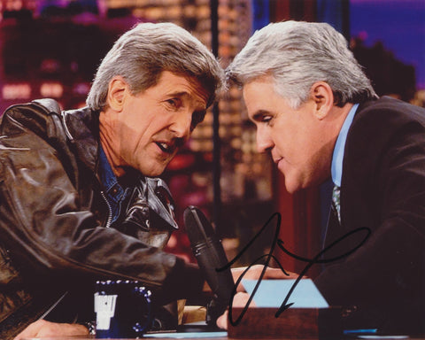 JAY LENO SIGNED THE TONIGHT SHOW 8X10 PHOTO 10