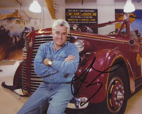 JAY LENO SIGNED THE TONIGHT SHOW 8X10 PHOTO 12