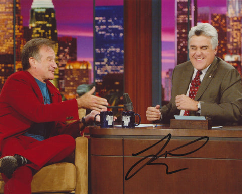 JAY LENO SIGNED THE TONIGHT SHOW 8X10 PHOTO 22