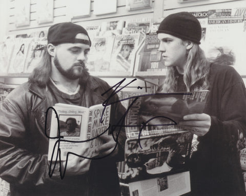 KEVIN SMITH AND JAY MEWES SIGNED JAY AND SILENT BOB 8X10 PHOTO
