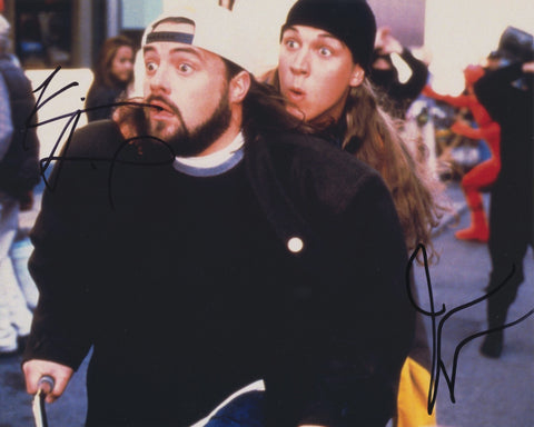 KEVIN SMITH AND JAY MEWES SIGNED JAY AND SILENT BOB 8X10 PHOTO 2