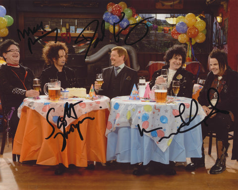 KIDS IN THE HALL SIGNED SPUN OUT 8X10 PHOTO