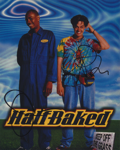 DAVE CHAPPELLE AND JIM BREUER SIGNED HALF BAKED 8X10 PHOTO 2