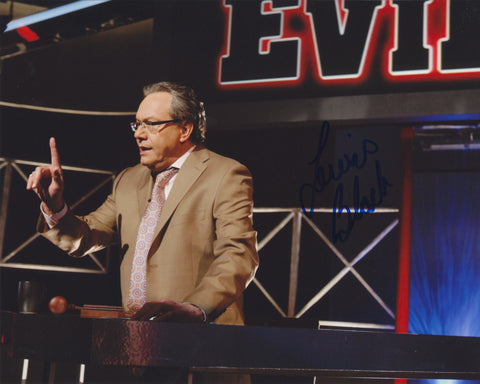 LEWIS BLACK SIGNED ROOT OF ALL EVIL 8X10 PHOTO 2