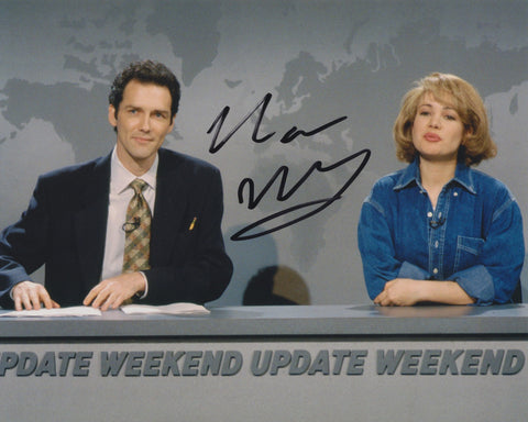 NORM MACDONALD SIGNED SATURDAY NIGHT LIVE 8X10 PHOTO 3