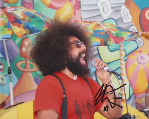 REGGIE WATTS SIGNED 8X10 PHOTO