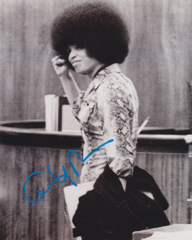 ANGELA DAVIS SIGNED CIVIL RIGHTS ACTIVIST 8X10 PHOTO 2