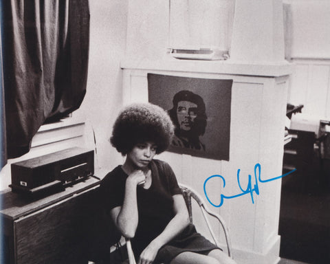 ANGELA DAVIS SIGNED CIVIL RIGHTS ACTIVIST 8X10 PHOTO 3