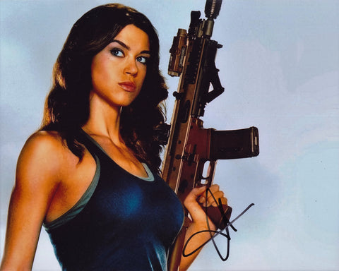 ADRIANNE PALICKI SIGNED G.I. JOE: RETALIATION 8X10 PHOTO