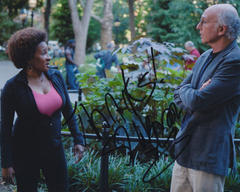 WANDA SYKES SIGNED CURB YOUR ENTHUSIASM 8X10 PHOTO