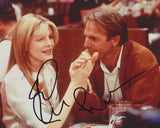 RENE RUSSO SIGNED TIN CUP 8X10 PHOTO
