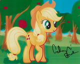 ASHLEIGH BALL SIGNED MY LITTLE PONY APPLEJACK 8X10 PHOTO