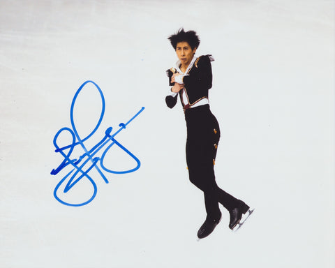 JEREMY TEN SIGNED FIGURE SKATING 8X10 PHOTO 2
