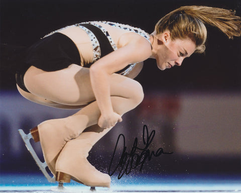 ASHLEY WAGNER SIGNED FIGURE SKATING 8X10 PHOTO 2