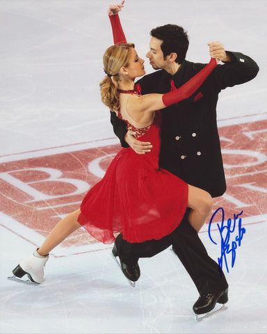 BEN AGOSTO SIGNED FIGURE SKATING 8X10 PHOTO 2