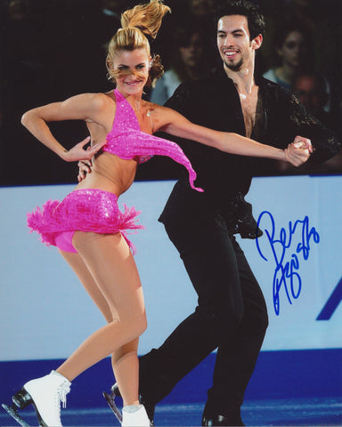 BEN AGOSTO SIGNED FIGURE SKATING 8X10 PHOTO 3