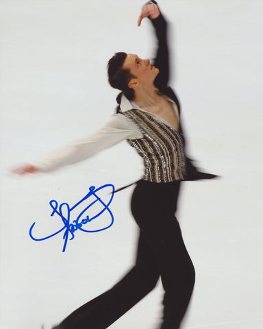 JEREMY ABBOTT SIGNED FIGURE SKATING 8X10 PHOTO
