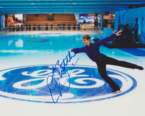 JEFFREY BUTTLE SIGNED FIGURE SKATING 8X10 PHOTO