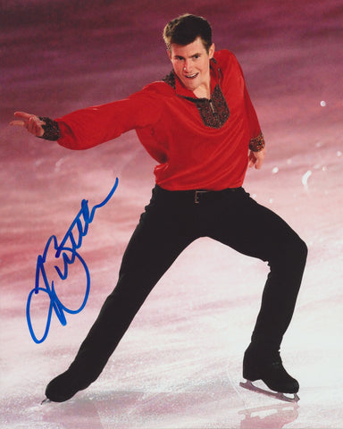 JEFFREY BUTTLE SIGNED FIGURE SKATING 8X10 PHOTO 4