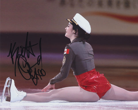 KAETLYN OSMOND SIGNED FIGURE SKATING 8X10 PHOTO 2