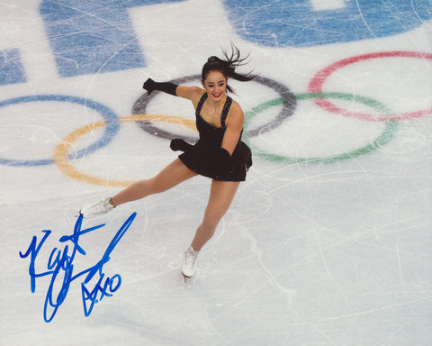 KAETLYN OSMOND SIGNED 2014 OLYMPIC FIGURE SKATING 8X10 PHOTO 2