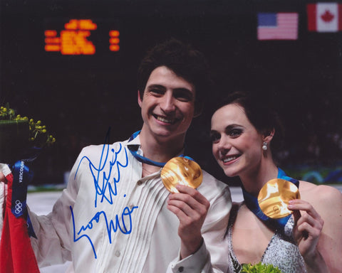 TESSA VIRTUE & SCOTT MOIR SIGNED 2010 OLYMPIC FIGURE SKATING 8X10 PHOTO 5