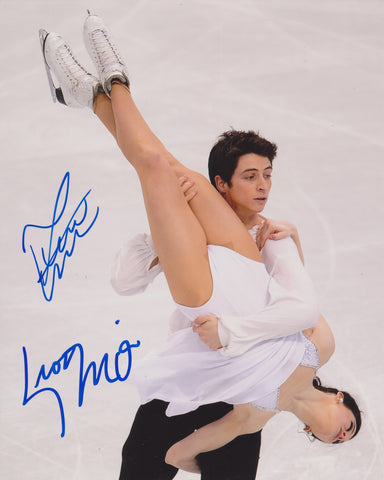 TESSA VIRTUE & SCOTT MOIR SIGNED FIGURE SKATING 8X10 PHOTO