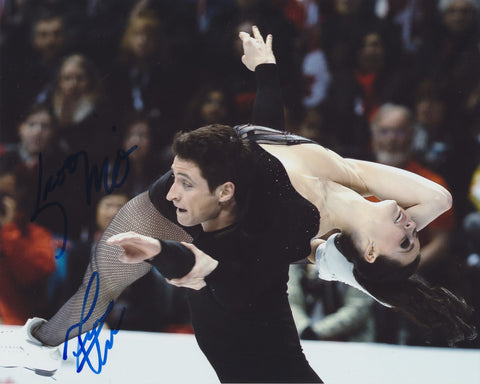 TESSA VIRTUE & SCOTT MOIR SIGNED FIGURE SKATING 8X10 PHOTO 2