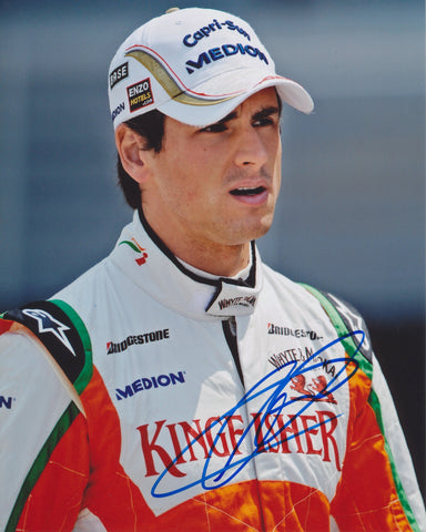 ADRIAN SUTIL SIGNED FORCE INDIA F1 FORMULA 1 8X10 PHOTO 2