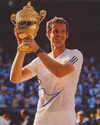 ANDY MURRAY SIGNED ATP TENNIS 8X10 PHOTO