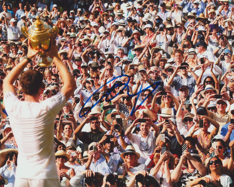 ANDY MURRAY SIGNED ATP TENNIS 8X10 PHOTO 2