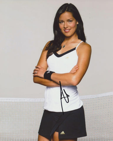ANA IVANOVIC SIGNED WTA TENNIS 8X10 PHOTO