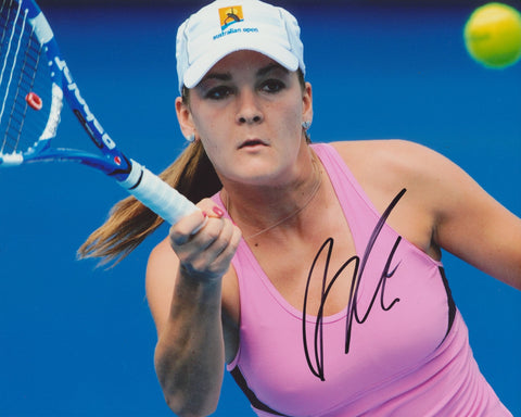 AGNIESZKA RADWANSKA SIGNED WTA TENNIS 8X10 PHOTO
