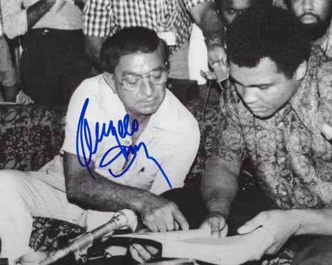 ANGELO DUNDEE SIGNED BOXING 8X10 PHOTO