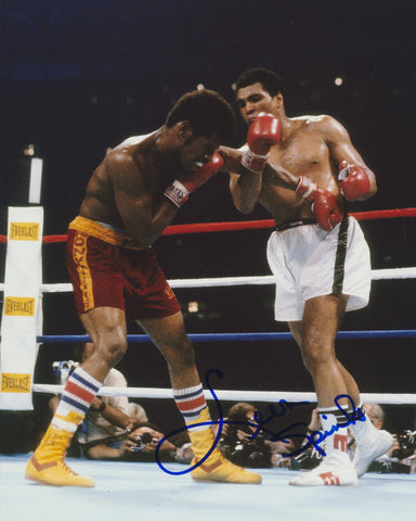LEON SPINKS SIGNED BOXING 8X10 PHOTO