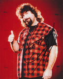 MICK FOLEY SIGNED WWE WWF 8X10 PHOTO 2