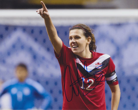 CHRISTINE SINCLAIR SIGNED TEAM CANADA 2012 OLYMPICS 8X10 PHOTO 2