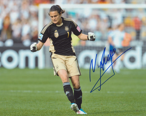 NADINE ANGERER SIGNED TEAM GERMANY WORLD CUP 8X10 PHOTO