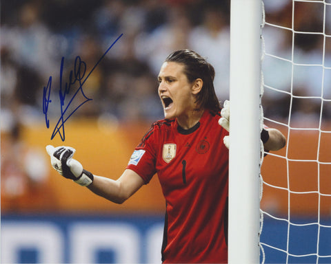 NADINE ANGERER SIGNED TEAM GERMANY WORLD CUP 8X10 PHOTO 2