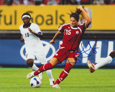 KARA LANG SIGNED TEAM CANADA 2012 OLYMPICS 8X10 PHOTO