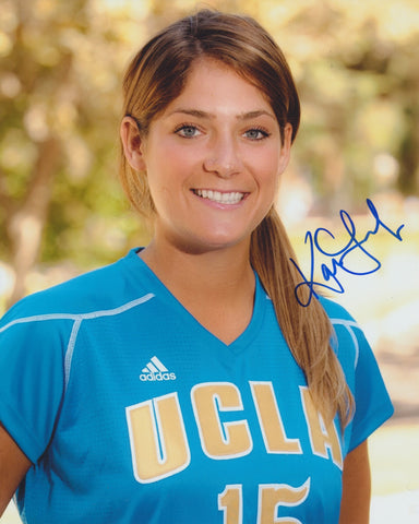 KARA LANG SIGNED UCLA BRUINS 8X10 PHOTO