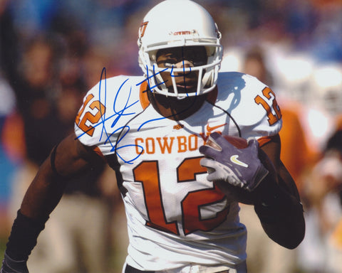 ADARIUS BOWMAN SIGNED OKLAHOMA STATE COWBOYS 8X10 PHOTO