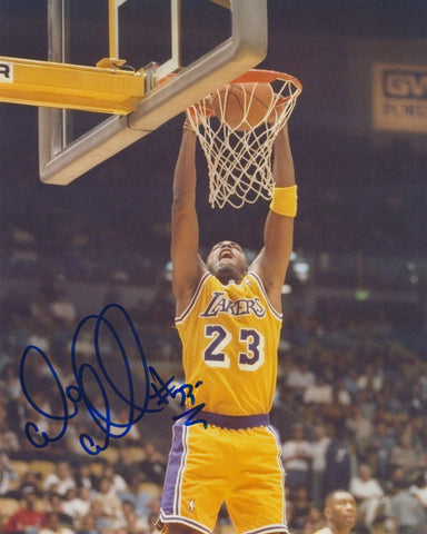 CEDRIC CEBALLOS SIGNED LOS ANGELES LAKERS 8X10 PHOTO